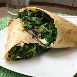 Wrap de Espinaca & Hongos