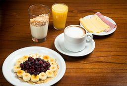 Desayuno con Tortilla de Avena