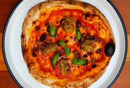 Pizza la Roja Vegana