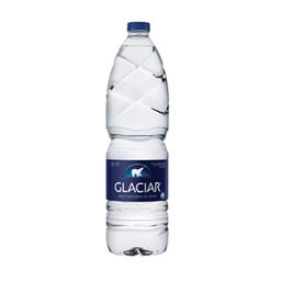 Agua  Glaciar Sin Gas x 1.5 L
