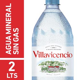 Agua Mineral Villavicencio Sin Gas
