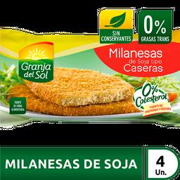 Granja Del Sol Milanesa De Soja Casera 24 4U