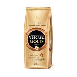 Caf� Tostado Molido Nescaf� Gold Suave