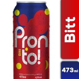 Aperitivo Con Alcohol Pronto Bitt 473 cc