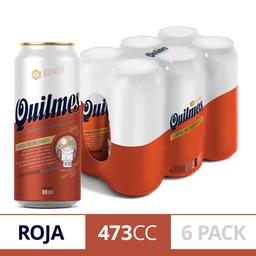 Cerveza Roja Quilmes Red Lager 6 U X 473 cc