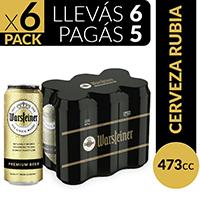 Warsteiner Cerveza Rubia Grolsch