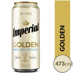 Imperial Golden Lata Cerveza