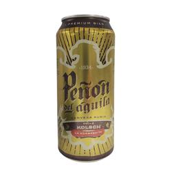 Cerveza Rubia Peñón Del Águila 473 cc