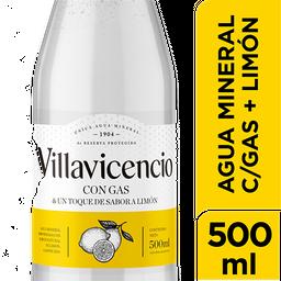 Agua Mineral Con Gas Villavicencio Limón