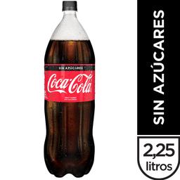Gaseosa Coca Cola Sin Azúcar 2.25 L.