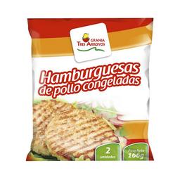 Hamburguesas de Pollo Granja Tres Arroyos 2 U