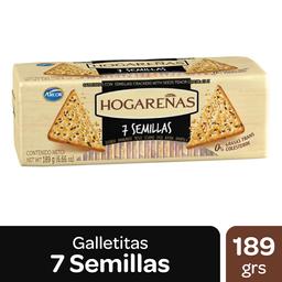 Galletitas Hogareñas 7 Semillas 189 g