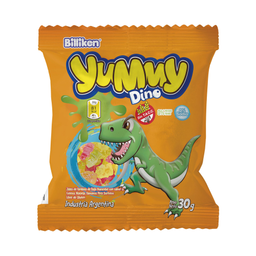 Gomitas Billiken Yummy Dinosaurios 30 g