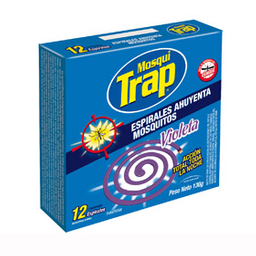 Espiral Mosqui Trap Perfeita Light 12 U