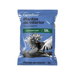 Mezcla Especial Carrefour Plantas de Interior 5 L.
