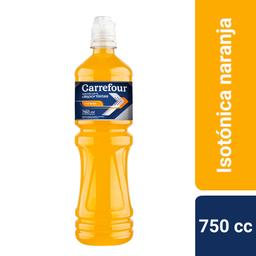 Bebida Isotónica Carrefour Naranja 750 cc