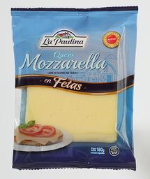 La Paulina Queso Mozzarella en Fetas