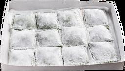 Ravioles de Masa de Espinaca. Ricotta y Parmesano