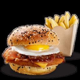 Sándwich Low Cost Pollo & Papas