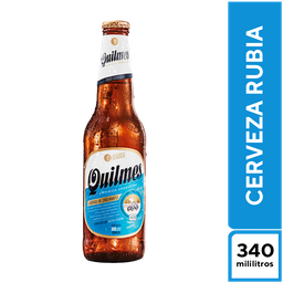 Quilmes Rubia Clásica 340 ml
