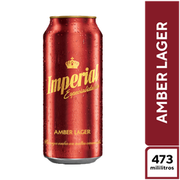 Imperial Amber Lager 500 ml