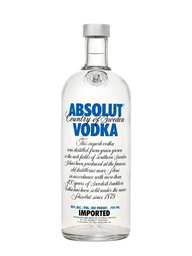 Vodka Absolut Raspberry 750 mL