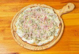 Pizza de Pollo a la Crema