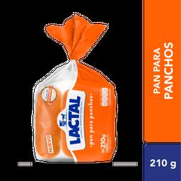 Pan Para Panchos Lactal 210 Gr