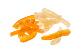 Tiritas Deshidratadas de Naranja 500 g