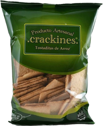 Tostaditas Crackines de Arroz 1 U
