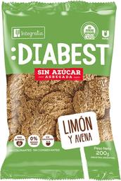 Galleta Integralia Diabest Avena y Limon 200 g