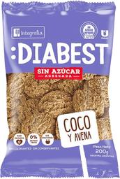 Galleta Integralia Diabest Avena y Coco 200 g