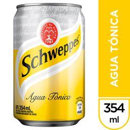Schweppes Agua Tonica 354 ml