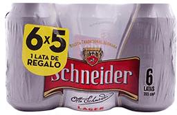 Cerveza Schneider 355 mL  X 6