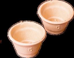 Vasos de Pasta X 6