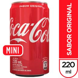 Coca-Cola Sabor Original 220 ml