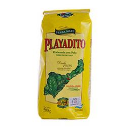 Yerba Mate Playadito Con Palo 500 Gr