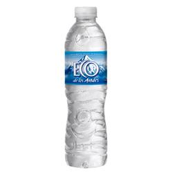 Agua  Eco De Los Andes Sin Gas x 500 mL