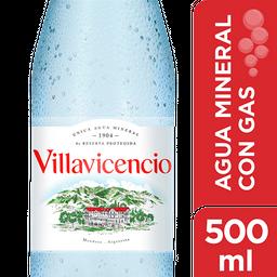 Agua Mineral Villavicencio Con Gas