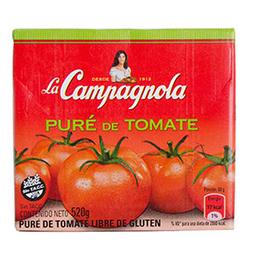 Puré De Tomate La Campagnola 520 Gr
