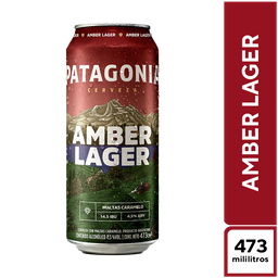 Patagonia Amber Lager 473ml