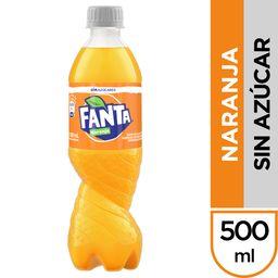 Fanta Naranja sin Azúcar 500 ml