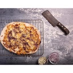 Pizza Grande de Mermelada de Cebolla y Queso Azul