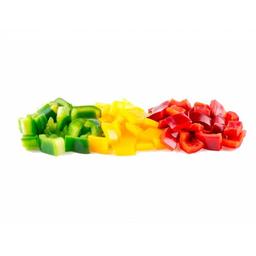 Mix de Morrónes (Los 3 Colores) en Cubitos