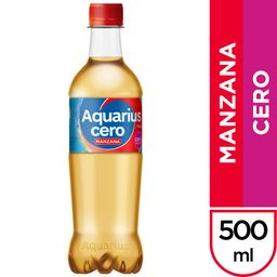 Aquarius Manzana Cero 500 ml