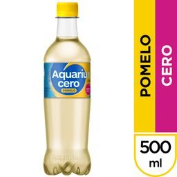 Aquarius Pomelo Cero 500 ml