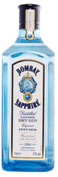 Dry Gin Bombay Sapphire London Infused 750 mL