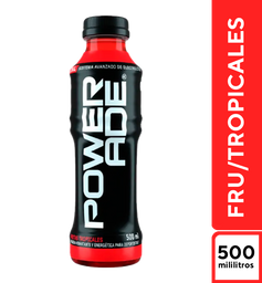 Powerade Frutas Tropicales 500 ml