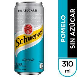 Schweppes Pomelo Sin Azúcar 310 ML