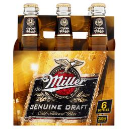 Six Pack Miller Porron 330Ml Cerveza